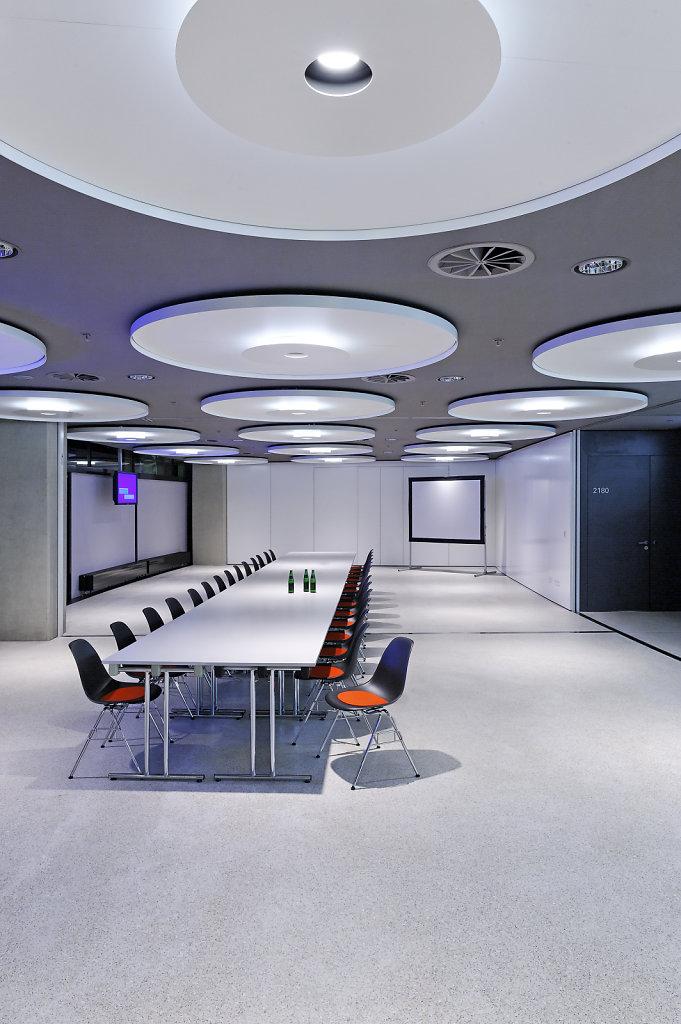 Olympiahalle München, Architekturbüro: Auer + Weber, Lichtplanung: Pfarré Lighting Design