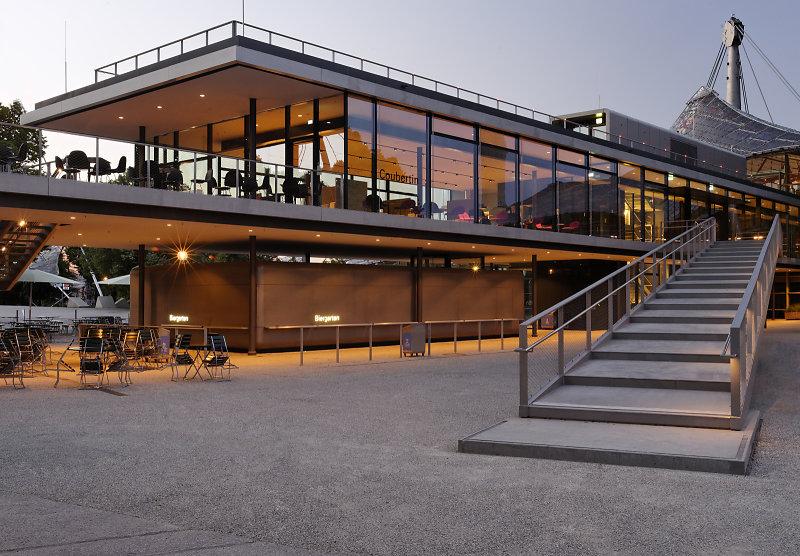 restaurant coubertin olympiagel nde m nchen architekturfotografie m nchen deutschland. Black Bedroom Furniture Sets. Home Design Ideas