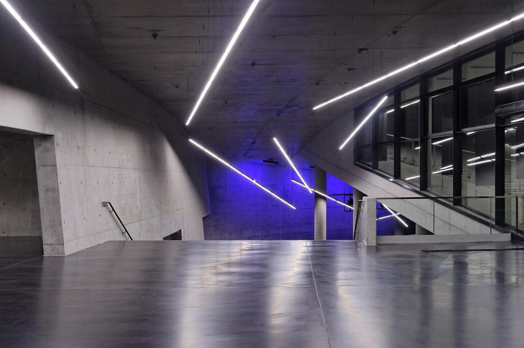Neue Kleine Olympiahalle, München, Architekturbüro: Auer + Weber, Lichtplanung: Pfarré Lighting Design