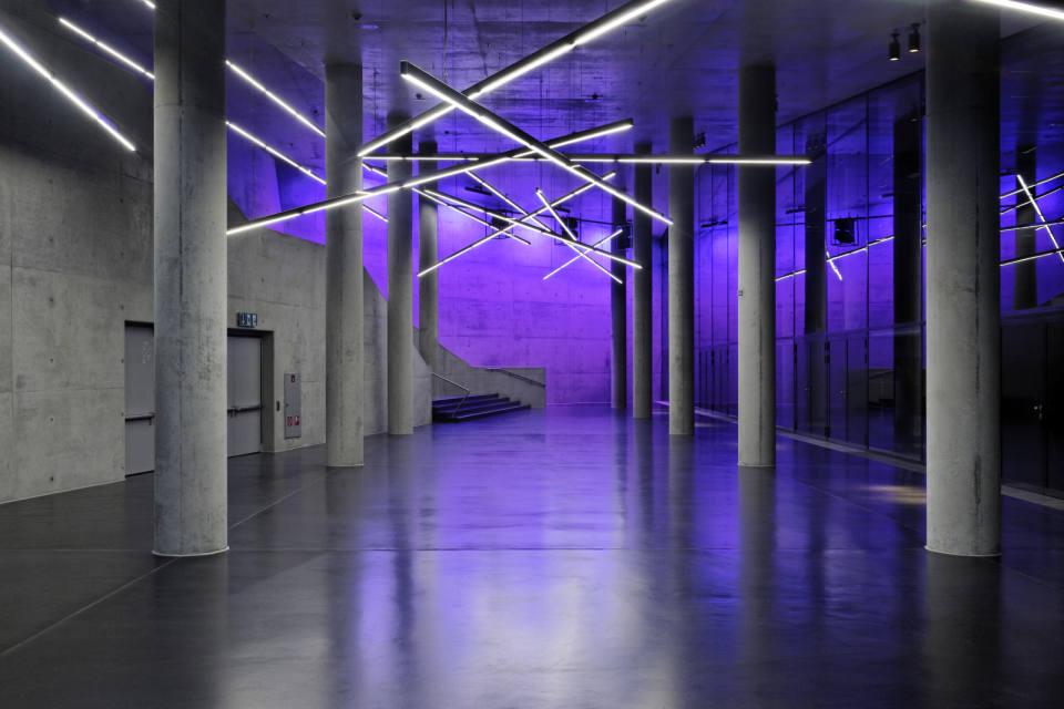 Neue Kleine Olympiahalle, München, Architekturbüro: Auer + Weber ...